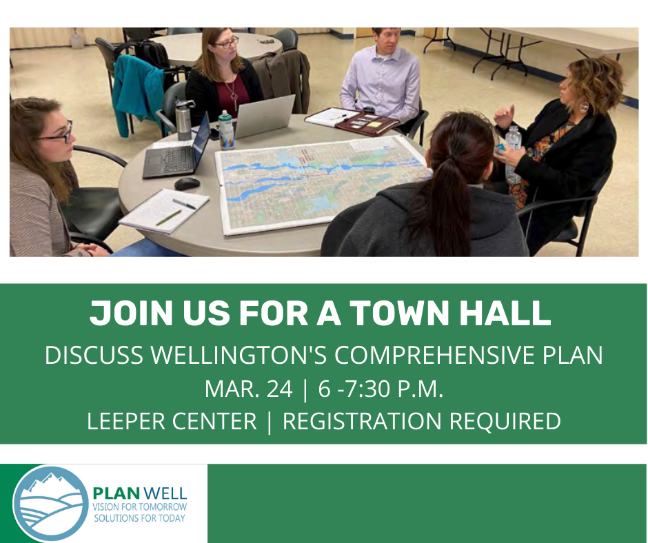 Town Hall March 24 6:30 p.m. at the Leeper Center